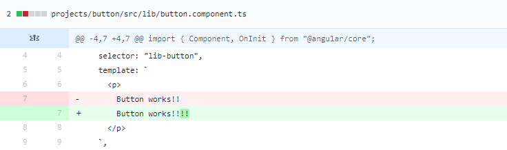 code diff